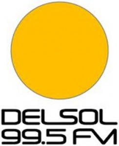 FM DEL SOL 99.5FM Montevideo, 96.3FM Colonia, 96.7FM Punta del Este.